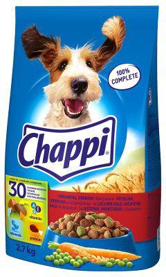 Chappi Karma z wolowina i drobiem 13.5 kg barība suņiem