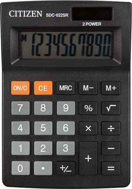 CITIZEN office calculator SDC022SR kalkulators
