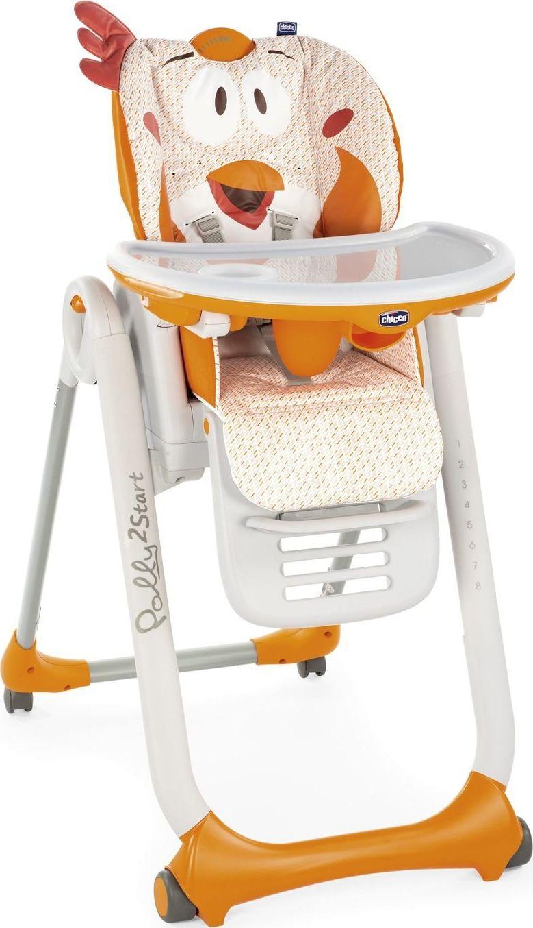 Chicco Polly 2 Start Chicken bērnu barošanas krēsls