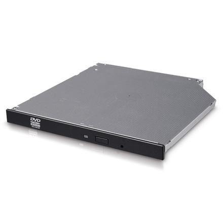 H.L Data Storage 9.5mm Slim DVD-Writer GUD0N Internal, Interface SATA, DVD±RW, CD read speed 24 x, CD write speed 24 x, Black diskdzinis, optiskā iekārta