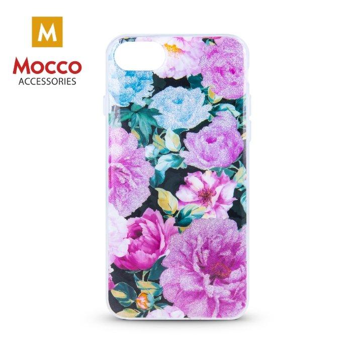Mocco Spring Case Silikona Apvalks Priekš Apple iPhone 6 Plus / 6S Plus (Rozā Peonijas) maciņš, apvalks mobilajam telefonam