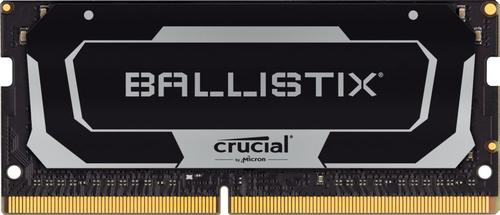 Ballistix 32GB Kit DDR4 2x16GB 3200 CL16 SODIMM 260pin black operatīvā atmiņa