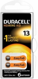 Duracell Hearing Aid 13 (A13) Array Baterija