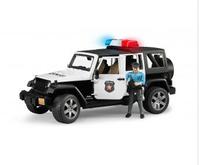 Police Bruder Jeep Wrangler Unlimited Rubicon with Police Figure (02526) Rotaļu auto un modeļi