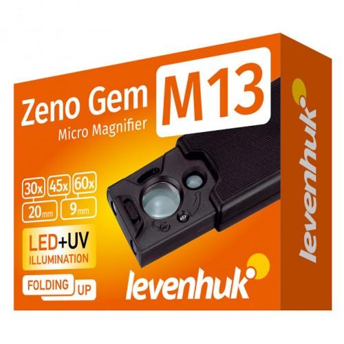 Kabatas Lupa ar Apgaismojumu Levenhuk Zeno GeM M13 PLUS (30-60x)