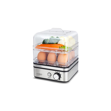 Caso Egg Boiler and Steam Cooker ED10 Stainless steel/ black, 400 W, 4038437027723