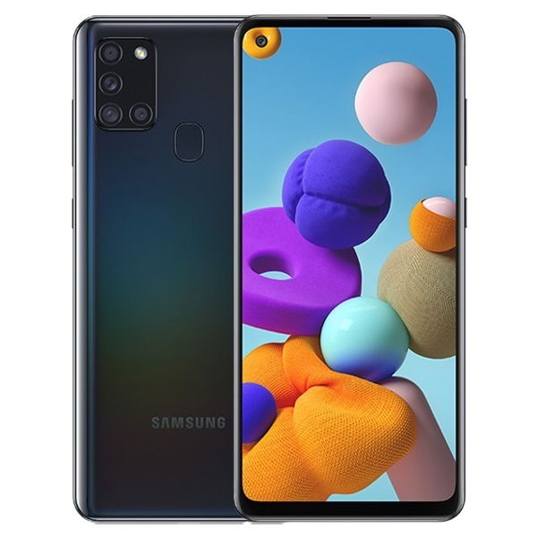 Samsung A217F/DSN Galaxy A21s Dual LTE 32GB black A217F/DSN black Mobilais Telefons