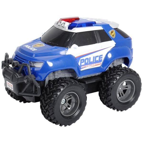 RC Samochod policyjny Offroader Radiovadāmā rotaļlieta