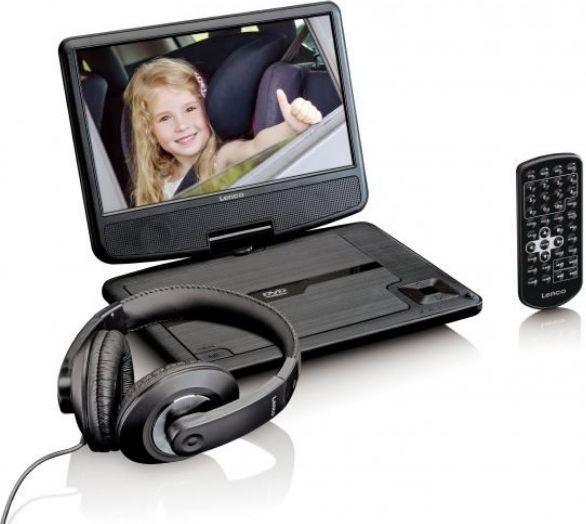 Przenosny odtwarzacz Lenco DVP-911B Lenco DVP-911B dvd multimēdiju atskaņotājs