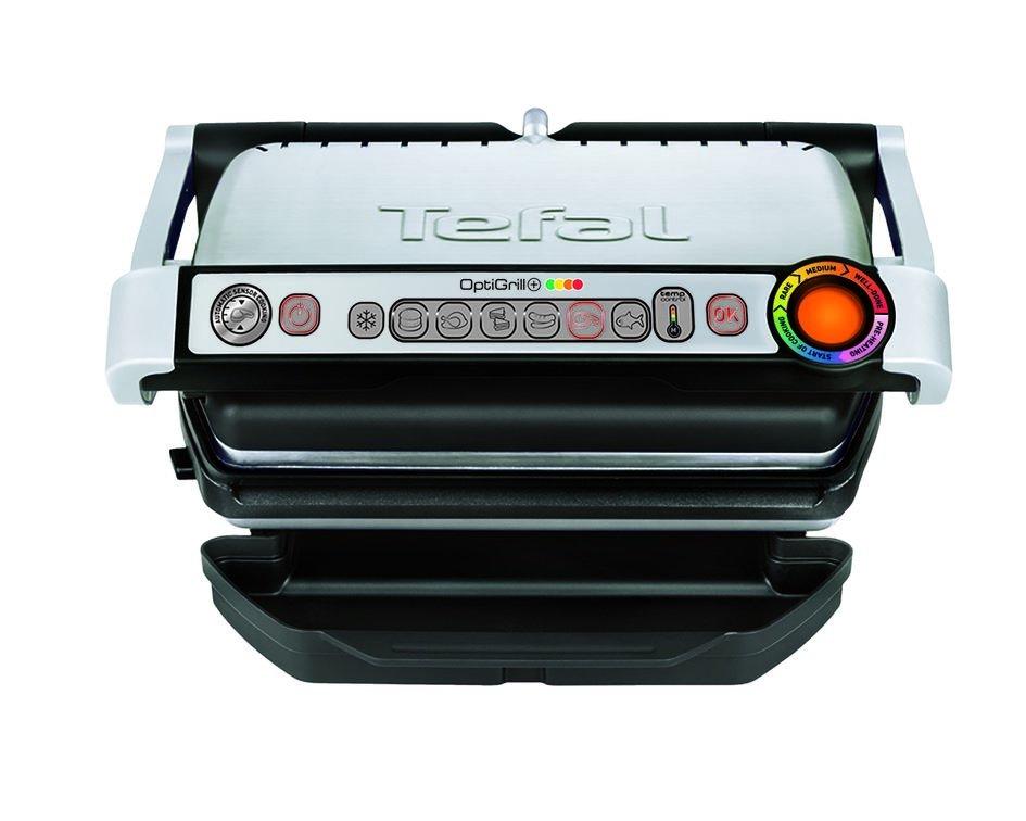 TEFAL Grils OptiGrill+ ,2000 W, tērauda GC716D12 Galda Grils