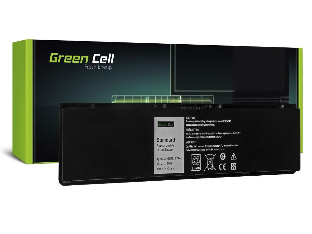Battery Green Cell 34GKR F38HT for Dell Latitude E7440 E7450 DE98 akumulators, baterija portatīvajiem datoriem