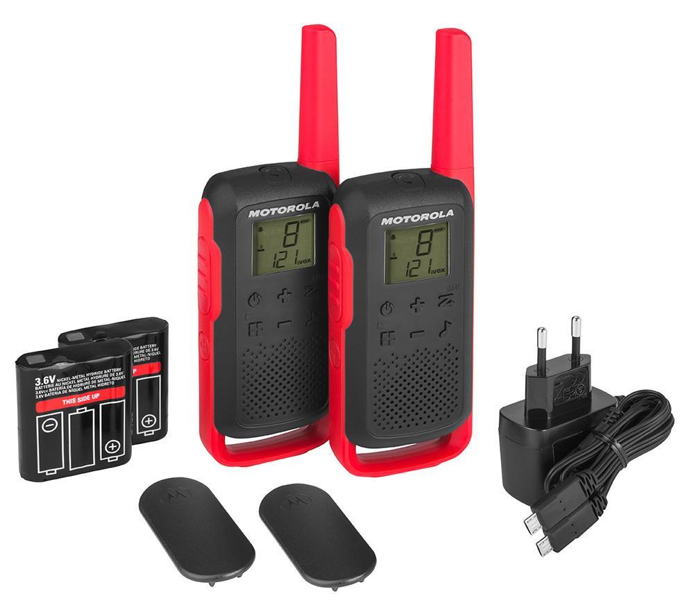 Motorola TLKR T62 Red rācijas