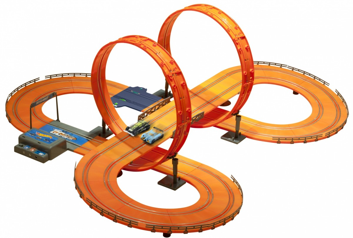 Brimarex Car track Kidztech Hot Wheels 683 cm