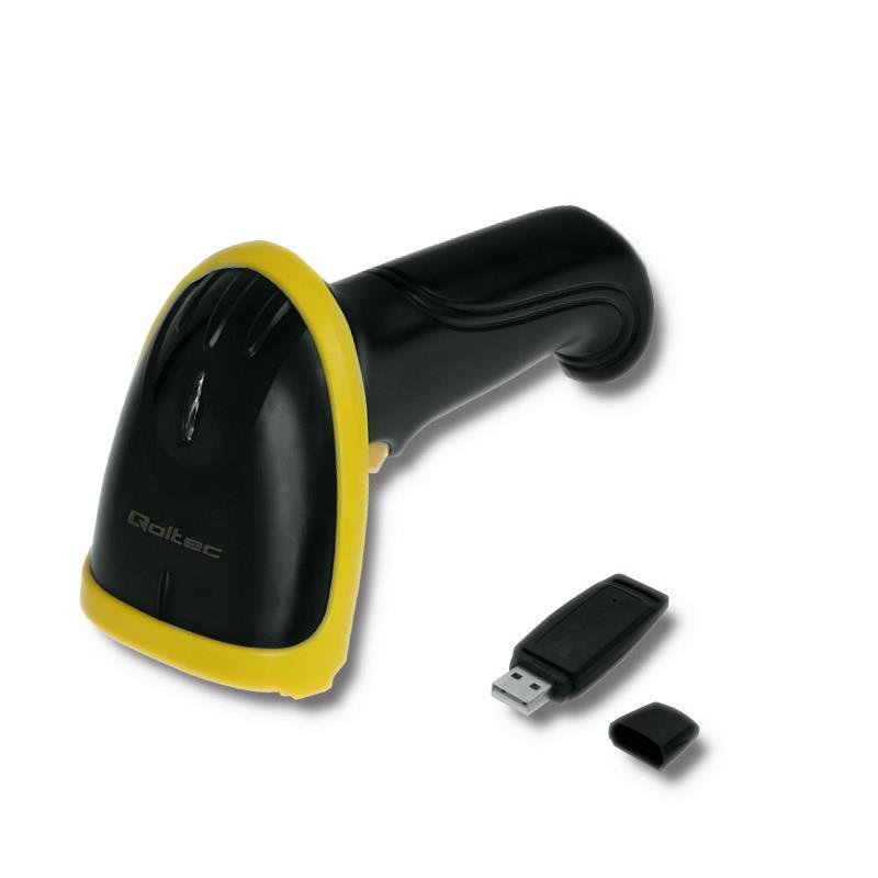Qoltec Wireless barcode reader 1D, 2.4GHz svītru koda lasītājs
