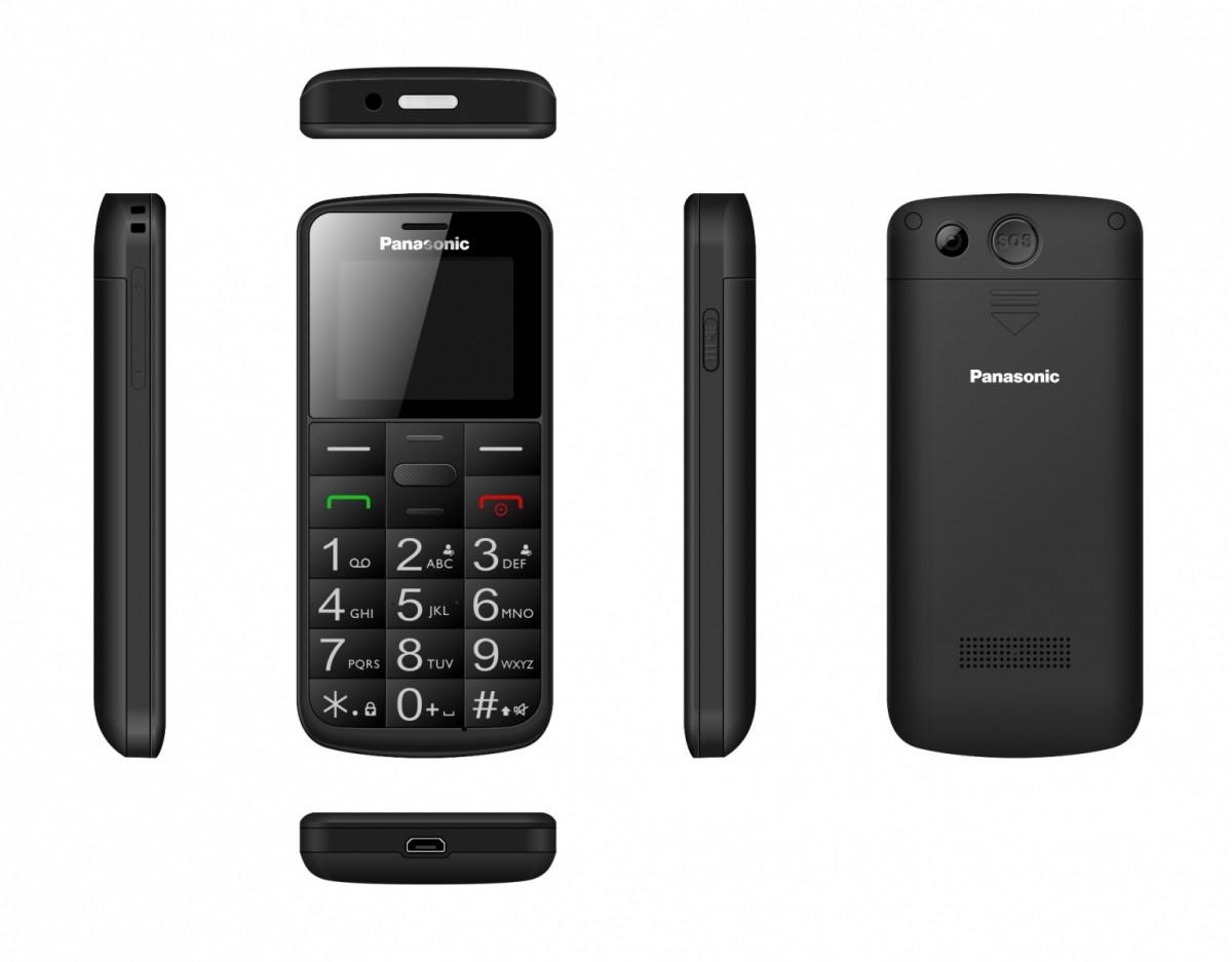 Panasonic Mobile phone for senior KX-TU110 black Mobilais Telefons