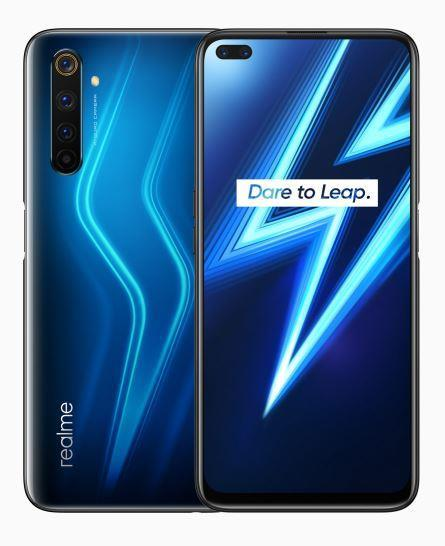 MOBILE PHONE 6 PRO 128GB/RMX2063 LIGHTNING BLUE REALME RMX20638128BLUE Mobilais Telefons