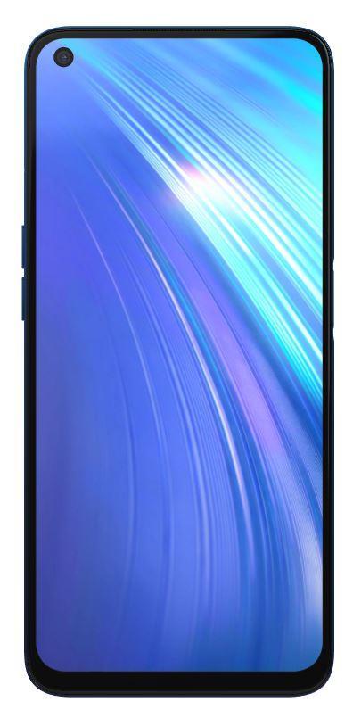 Realme 6 4GB/128GB Comet Blue Mobilais Telefons