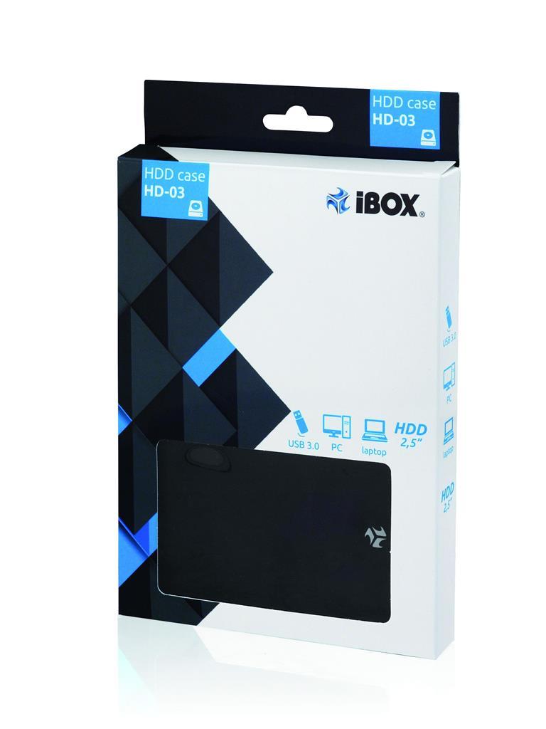 I-BOX HD-03 2,5  USB 3.0 cietā diska korpuss