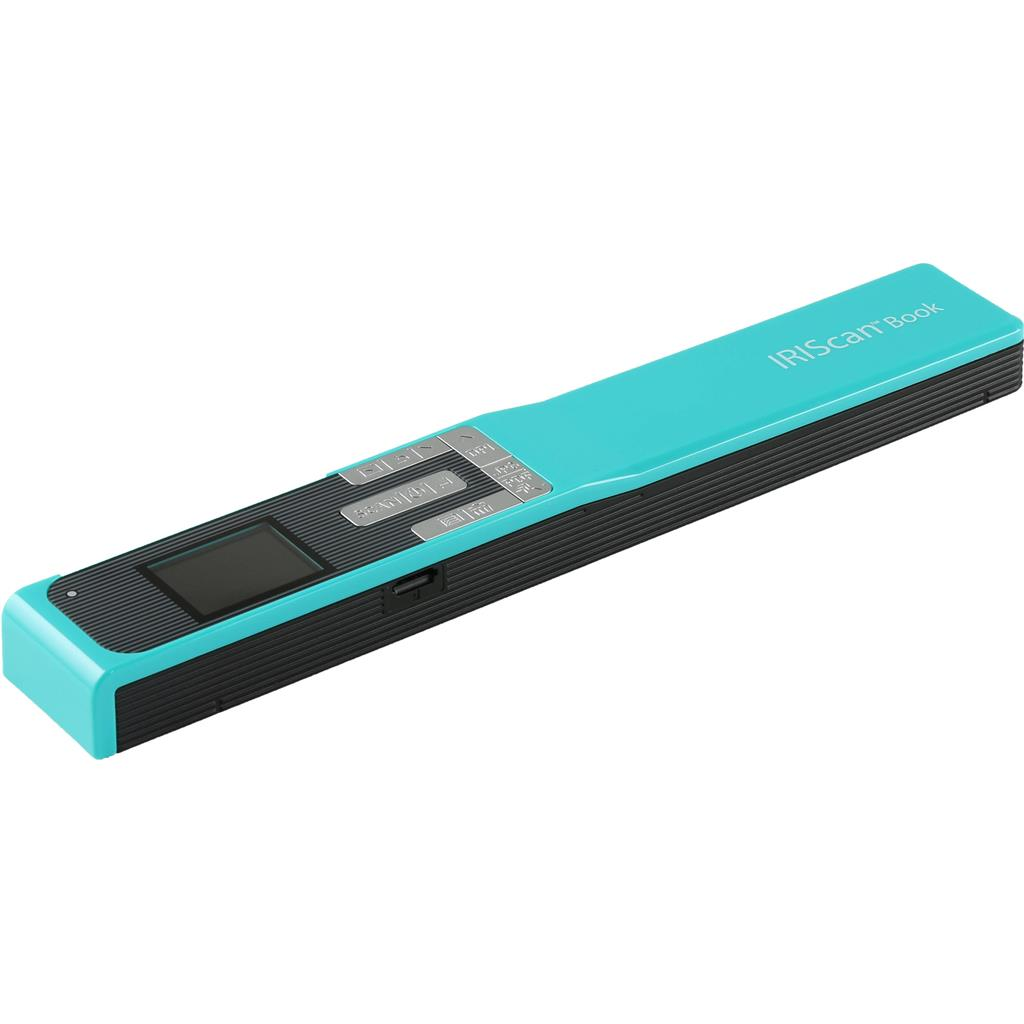 IRISCan Book 5 Turquoise - 30 PPM - Battery Li-ion skeneris