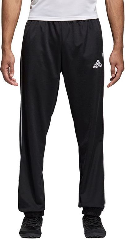 Adidas Spodnie meskie CORE 18 PES PNT czarne r. M (CE9050) CE9050