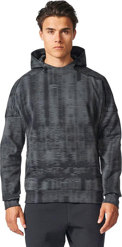 Adidas Bluza meska ZNE Pulse czarna r. S (BQ7040) BQ7040