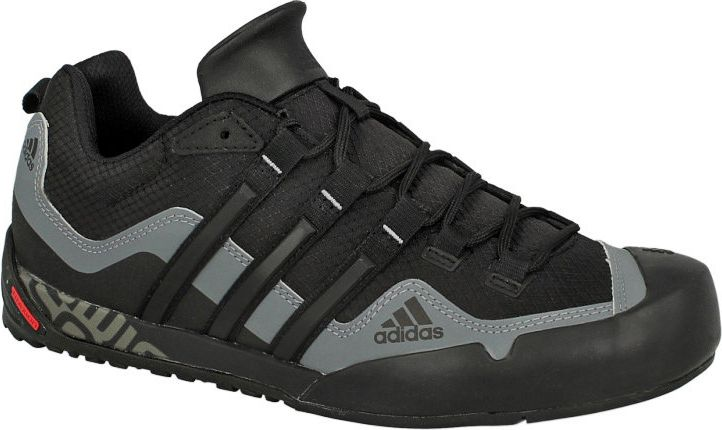 Adidas Buty meskie Terrex Swift Solo czarne r. 39 1/3 (D67031) D67031 Tūrisma apavi