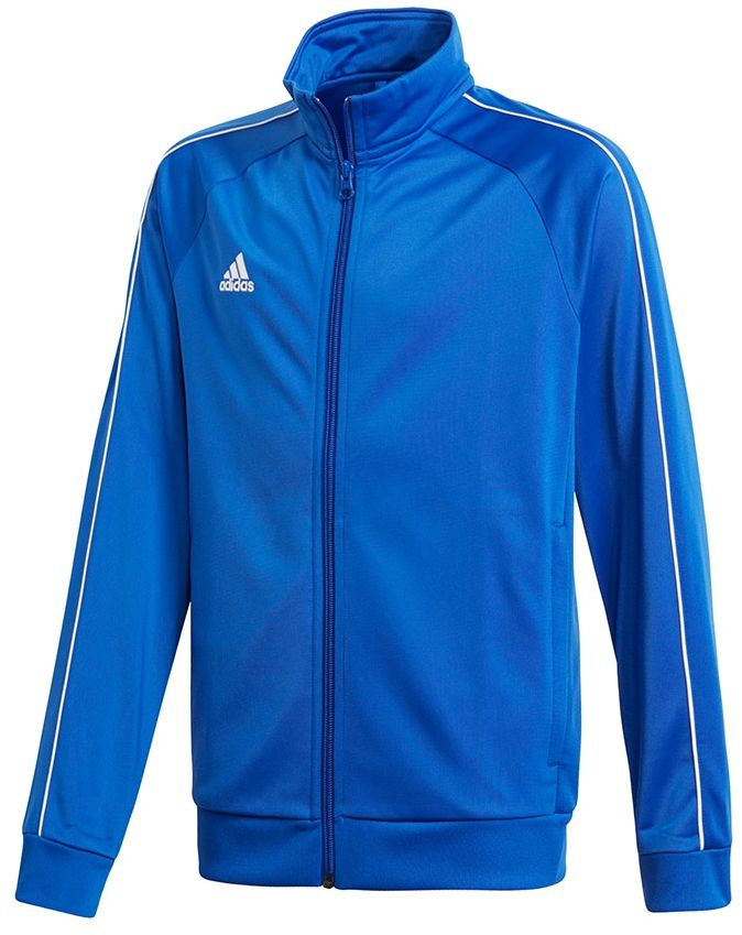 Adidas Bluza pilkarska CORE 18 PES JKTY niebieska r. 140 cm (CV3578) CV3578