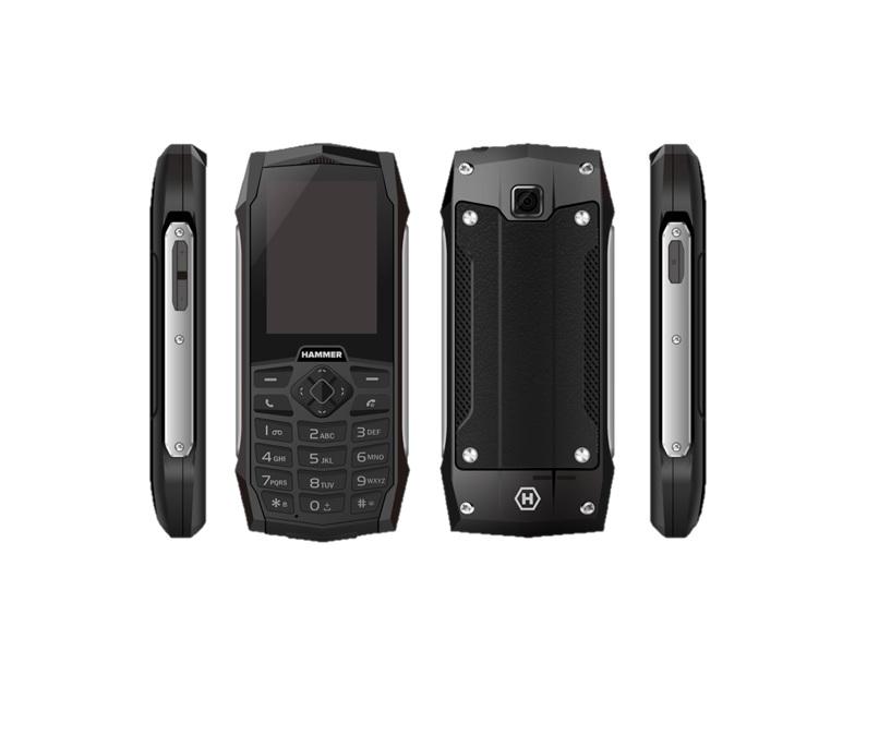 MyPhone HAMMER 3 Dual Sim silver Mobilais Telefons