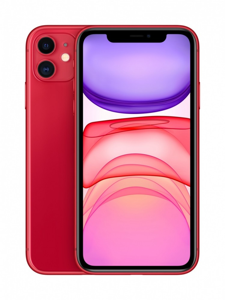 IPHONE 11 RED 256GB Mobilais Telefons