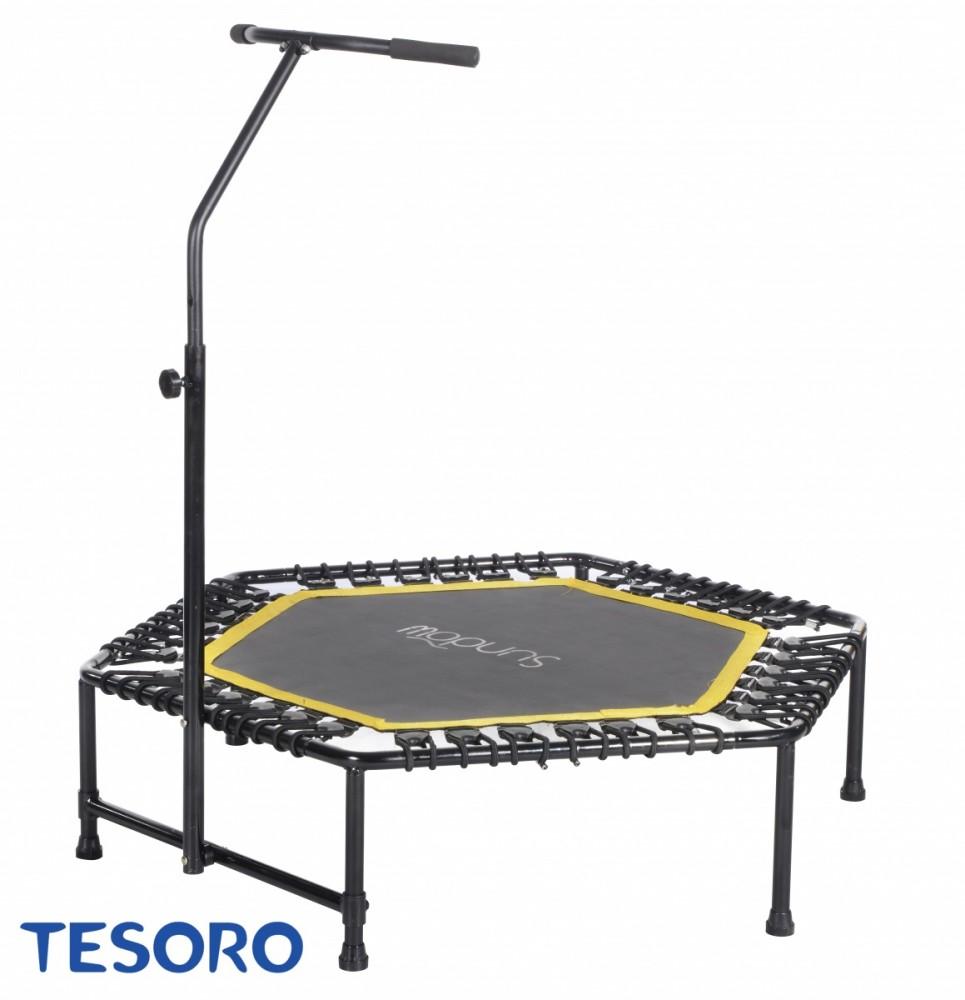 Tesoro Fitness Trampoline Hexagon 50 Inch green SDT-TP105- A Batuts