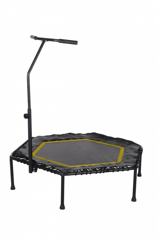 Tesoro Trampoline Fitness Hexagon 50 Inch orange Batuts