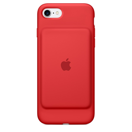 APPLE iPhone 7 Smart Battery Case Red Mobilais Telefons