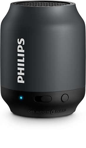 Philips BT50B/00 pārnēsājamais skaļrunis