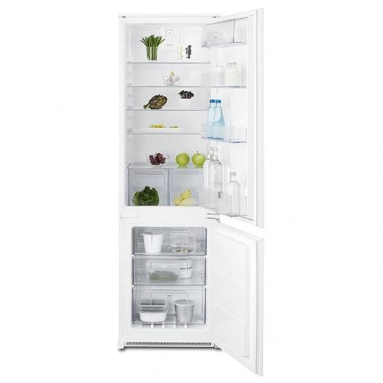 Electrolux ENN2812AOW (540mm x 1772mm x 549 mm; 196 l; Class A++; white color) Iebūvējamais ledusskapis