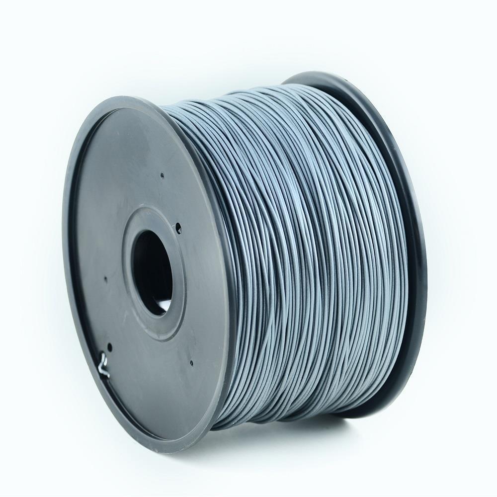 Filament Gembird PLA Silver | 1,75mm | 1kg 3D printēšanas materiāls