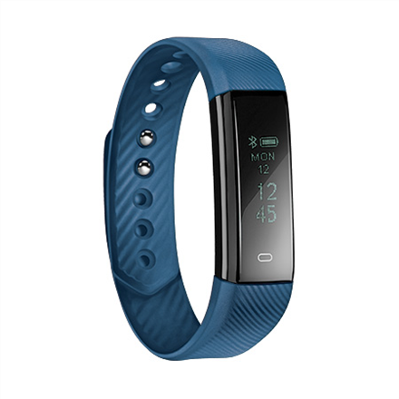 Acme Activity tracker ACT101B OLED, Touchscreen, Bluetooth, Built-in pedometer, Blue, Viedais pulkstenis, smartwatch
