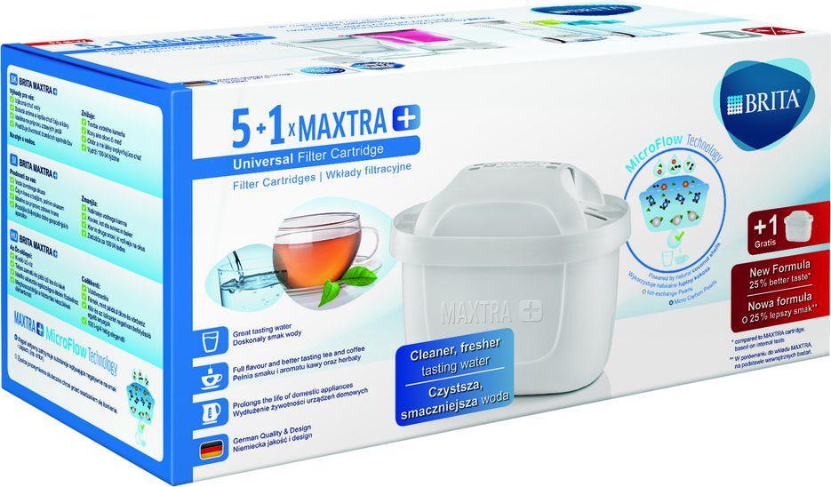 Brita Maxtra Plus 5+1 (6 pack) Virtuves piederumi
