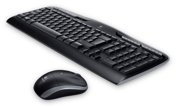 Logitech MK330 Wireless Combo klaviatūra