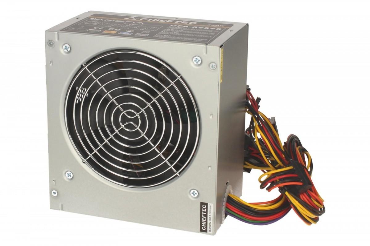 CHIEFTEC 350W ATX 12V 2.3 230V 80plus Barošanas bloks, PSU