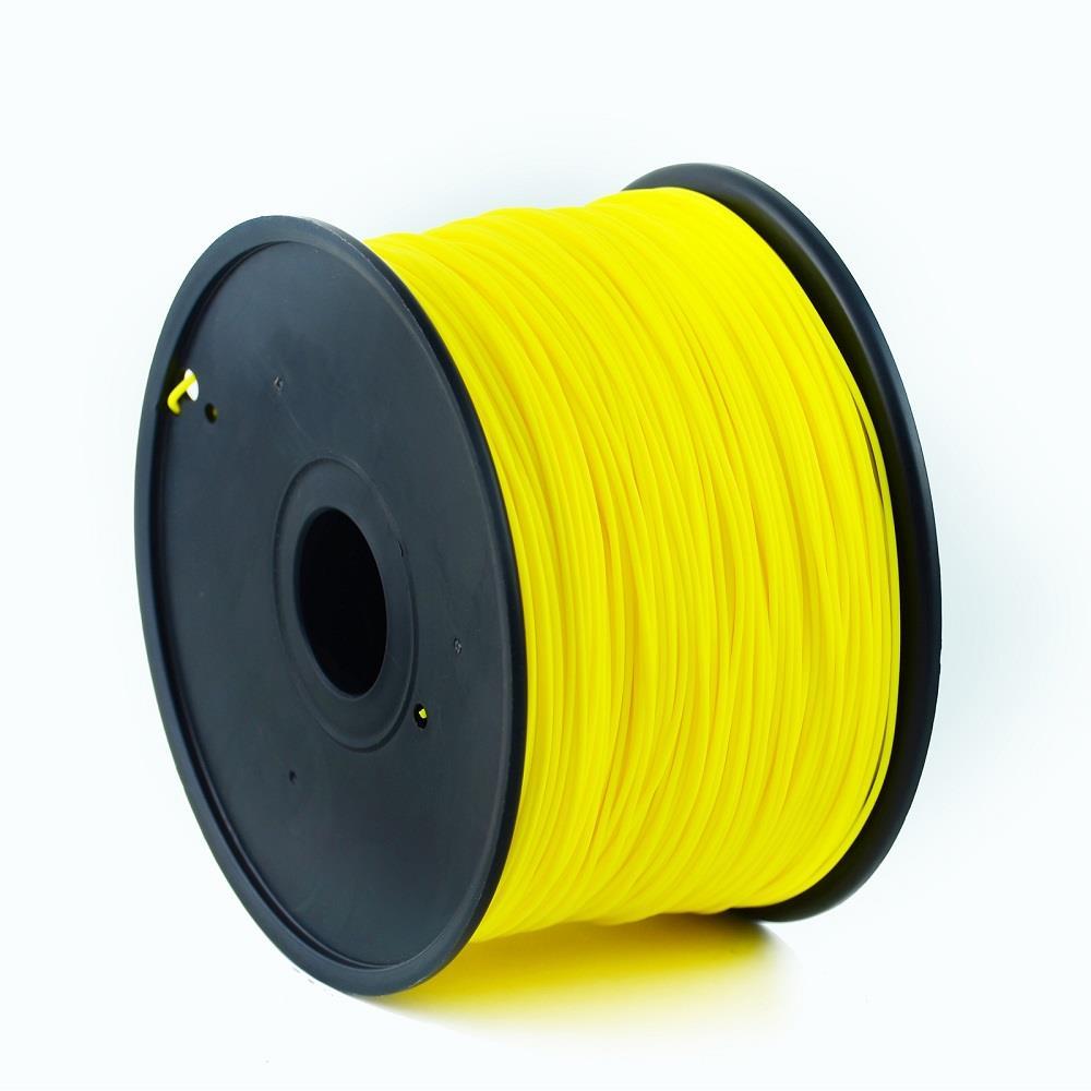 Filament Gembird PLA Yellow | 1,75mm | 1kg 3D printēšanas materiāls