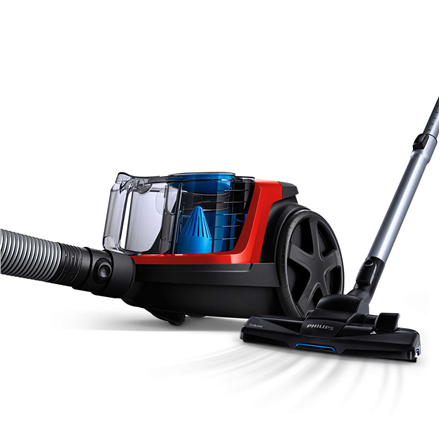 Philips PowerPro Compact Bagless vacuum cleaner FC9330/09 Energy efficiency class A TriActive nozzle Allergy filter with PowerCyclone 5 Tech Putekļu sūcējs