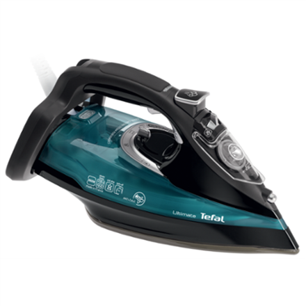 TEFAL Ultimate FV9785E0 Black/Green Gludeklis