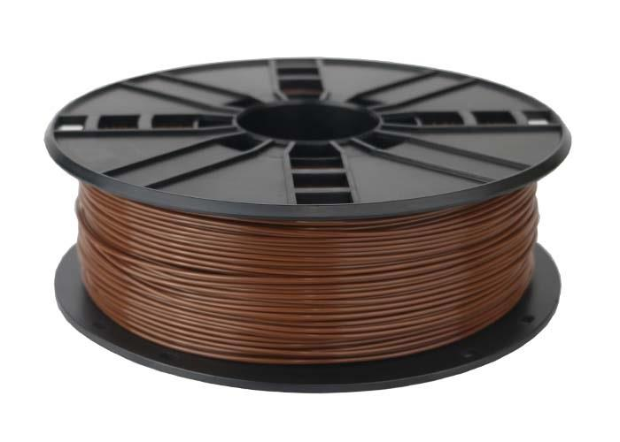 Filament Gembird PLA Brown | 1,75mm | 1kg 3D printēšanas materiāls