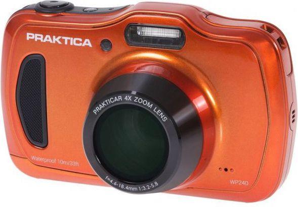 Digital camera PRAKTICA  WP240 orange Digitālā kamera