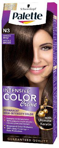 Palette Intensive Color Creme Krem koloryzujacy nr N3-sredni braz 68159492
