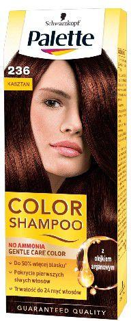 Palette Color Shampoo Szampon koloryzujacy nr 236 Kasztan 68160535