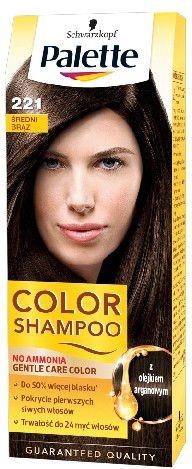 Palette Palette Color Shampoo Szampon koloryzujacy nr 221 Braz 1op. - 68160474 68160474