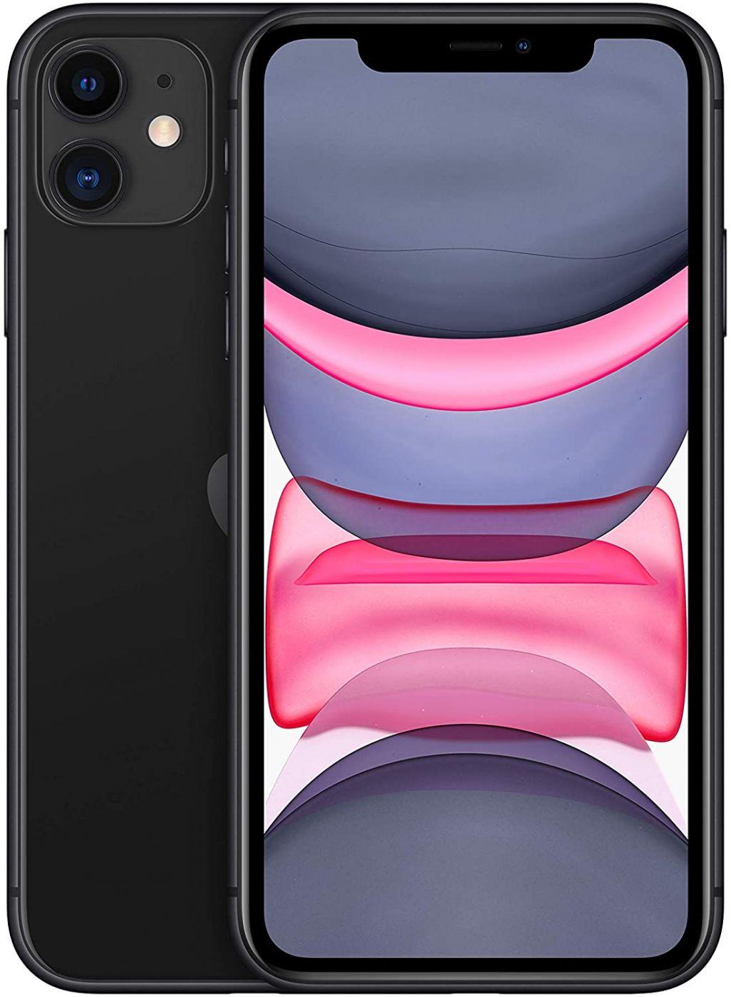 Apple  iPhone 11 64GB Black MHD3ET/A