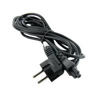 Power cable for notebook clover C5 3pin 3.0m kabelis datoram