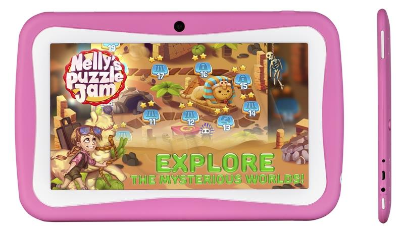 Tablet BLOW KidsTAB 7.2 pink + case Planšetdators
